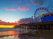 "Santa Monica Pier | Photo courtesy of Shabdro Photo, <a href=""http://www.flickr.com/photos/shabdro/8486696357/"" target=""_blank"">Flickr</a>"