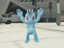 Pokémon Go at The Broad