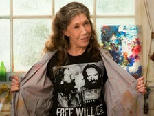 "Lily Tomlin in the Netflix series, ""Grace and Frankie"""