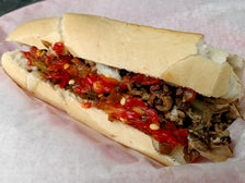 Cheesesteak at Papa Jake's Sub Shop