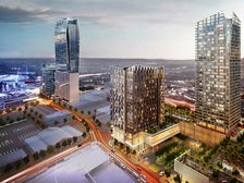 Rendering of Metropolis Los Angeles