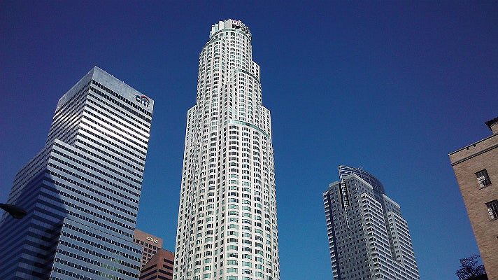 U.S. Bank Tower in Downtown Los Angeles