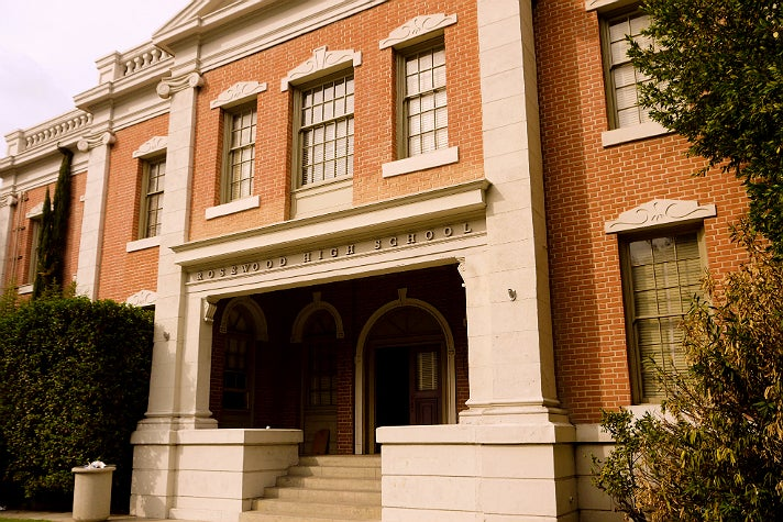 """Hazzard County Courthouse from """"The Dukes of Hazzard"""" at Warner Bros. Studio"""