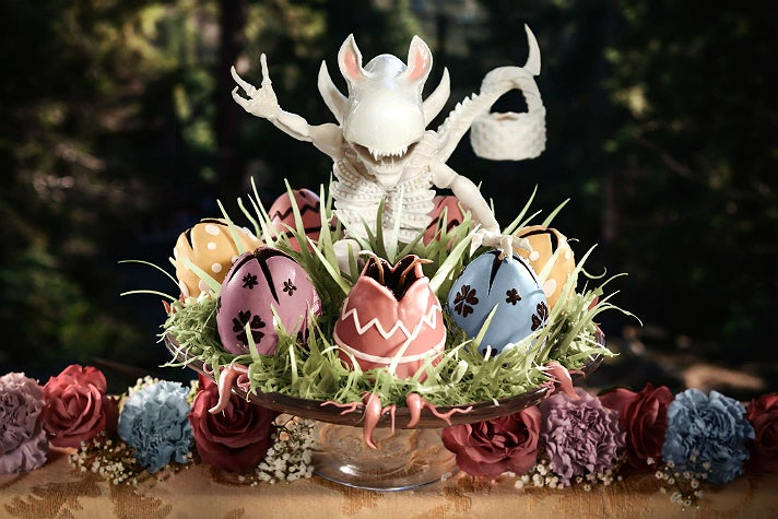Xenomorph Easter Bunny by Christine McConnell