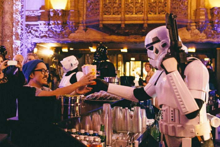 """Live read of """"The Empire Strikes Back"""" at The Theatre at Ace Hotel"""