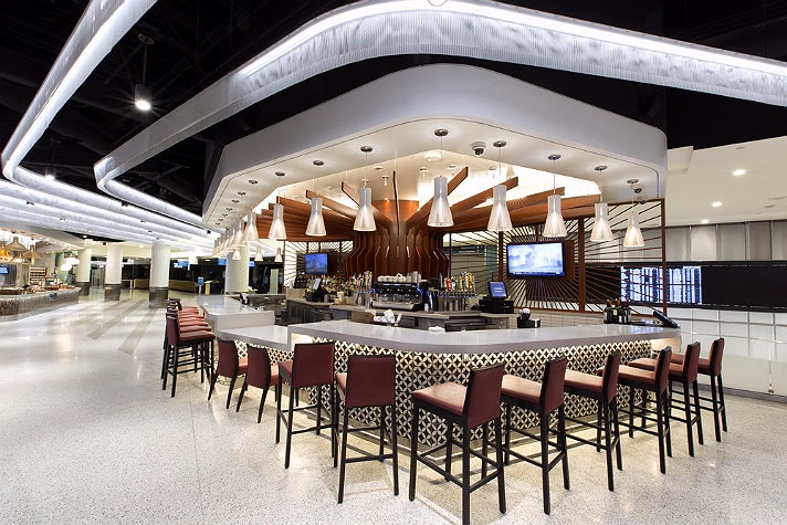 The Wine Bar by Wolfgang Puck in Terminal 6 at LAX