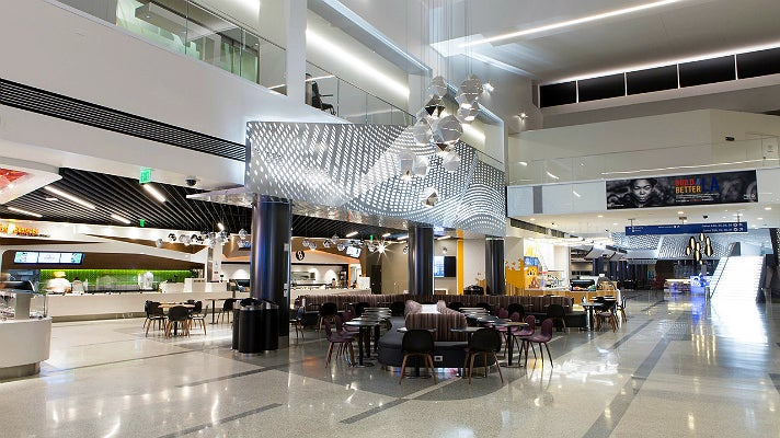 Dining Terrace at LAX Terminal 2