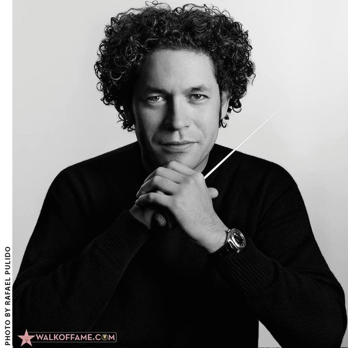 Gustavo Dudamel at Hollywood Walk of Fame