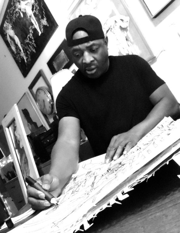 """Chuck D: Behind the Seen"" at Gallery 30 South"