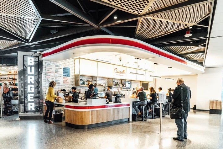 Cassell's Hamburgers at LAX Terminal 1