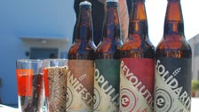 Eagle Rock Brewery beer bottles