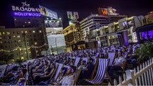 Rooftop Cinema Club at The Montalban Theatre in Hollywood