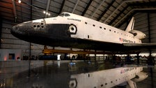 Space Shuttle Endeavour at California Science Center