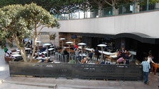 Patio at Blue Cow Kitchen