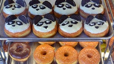 Panda donuts and more at California Donuts