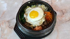 Wild Boar Bibimbap at Destini Cafe