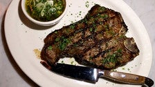T-bone steak at Scopa Italian Roots