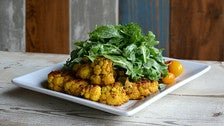 Roasted cauliflower salad at Vegetable in Studio City