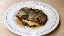 Loup de Mer with Meunière at Oriel