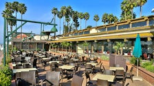 Patio at Whiskey Red's in Marina del Rey