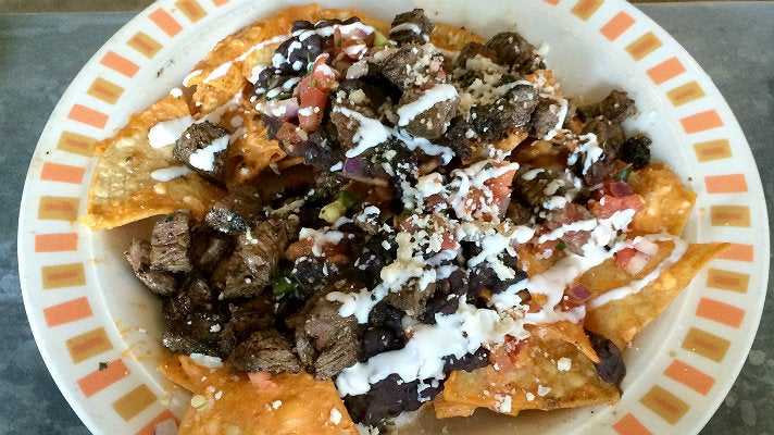 Skillet Nachos at Border Grill