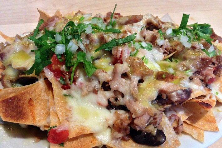 Nachos at Loteria Grill