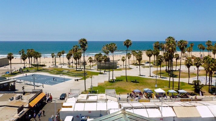 Another perfect day in Venice Beach.