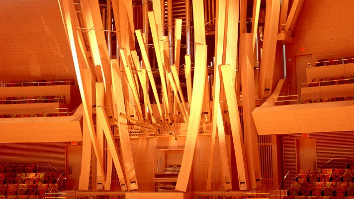 Pipe organ at Walt Disney Concert Hall