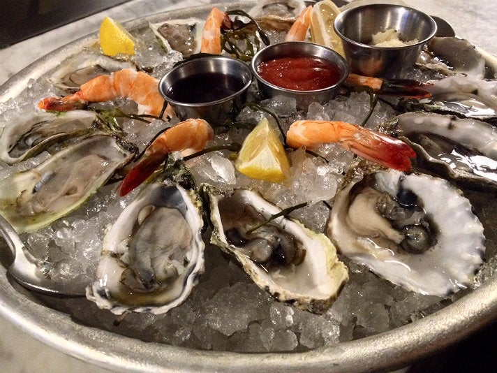 Raw Bar Monday at Delphine