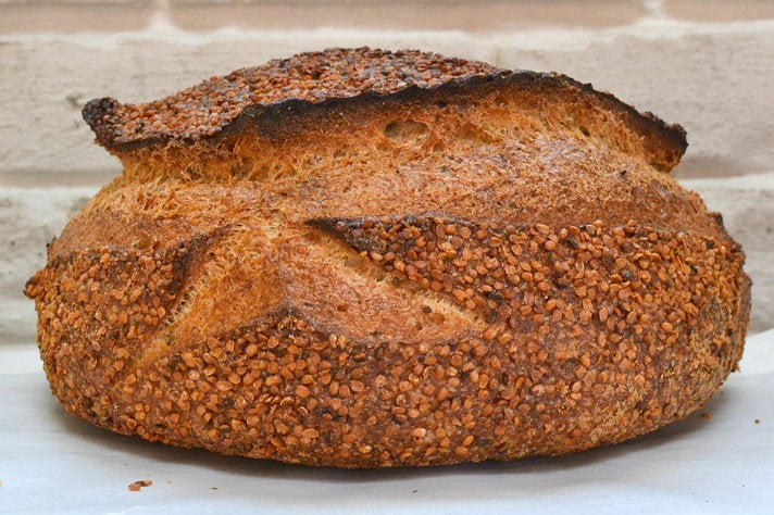 Hemp nori whole wheat bread at Gjusta Bakery