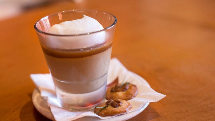 Butterscotch Budino at Pizzeria Mozza