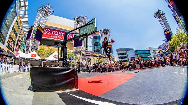 Nike Basketball 3ON3 Tournament dunk contest