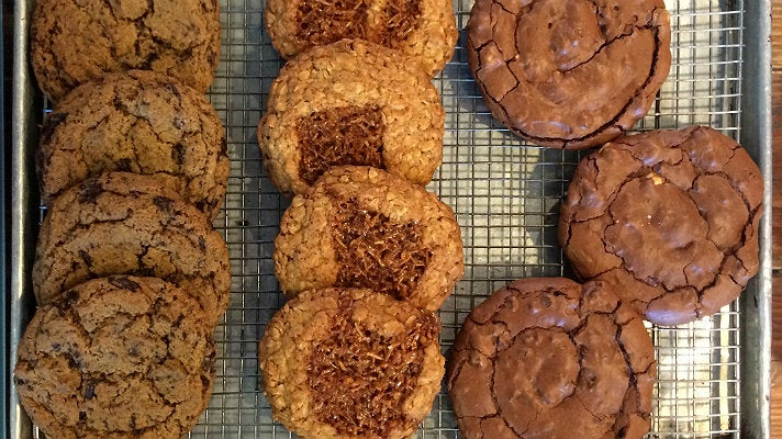 Chocolate chip rye cookies and more at The Sycamore Kitchen